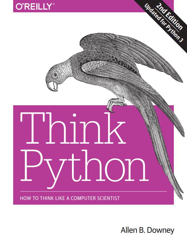 Think Python 2e cover